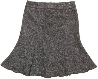 Max & Co. Grey Wool Skirt for Women