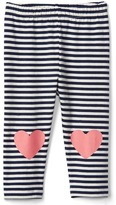 Gap Graphic stripe stretch jersey leggings