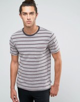 Brixton Hilt Striped Pocket T-Shirt