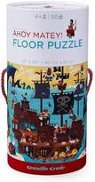 Crocodile Creek Ahoy Matey! 50-Piece Floor Puzzle