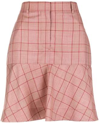 Calvin Klein Tailored Flared Skirt