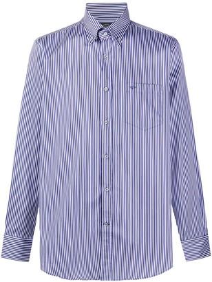 Paul & Shark Stripe-Print Button-Down Shirt