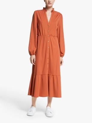 Dune Y.A.S Midi Dress, Orange