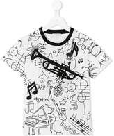 Dolce & Gabbana 'Jazz Elements' print T-shirt