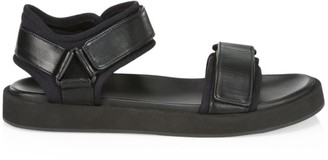 The Row Grip-Tape Leather Sandals