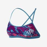 Nike Tropical Crossback Sports Bra Women's Swim Top