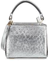 VBH Seven 20 Ostrich Crossbody Bag, Silver