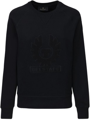 Belstaff Logo Embroidery Cotton Sweatshirt