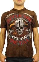 Affliction Battle Hymn Short Sleeve T-Shirt M