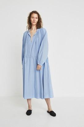 Skall Studio - Lyre Dress Blue Chambray - XS