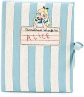 Olympia Le-Tan 'Notebook Alice' clutch - women - Cotton - One Size