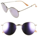 Ray-Ban Women's 53Mm Retro Sunglasses - Brown/ Pink