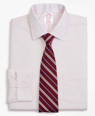 Brooks Brothers Madison Classic-Fit Dress Shirt, Non-Iron Micro-Check