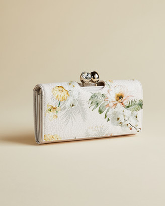 Ted Baker WELSEY Woodland leather matinee purse