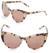 Brian Atwood 56mm Cats Eye Sunglasses