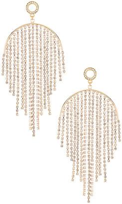 Ettika Rhinestone Fringe Earring