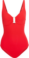 Melissa Odabash Tuscany Embellished Swimsuit - Red