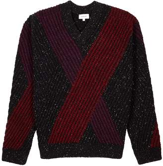 Lemaire Striped Chunky-knit Wool Jumper