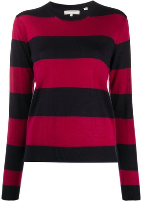 Chinti and Parker x Issimo striped cashmere jumper