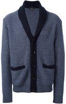 Ermenegildo Zegna woven button down cardigan - men - Cashmere - 52