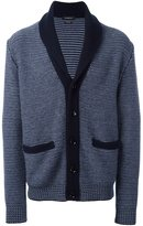 Ermenegildo Zegna woven button down cardigan
