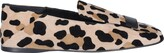 Thumbnail for your product : Sergio Rossi SR1 Leopard Printed Loafers