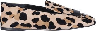 Sergio Rossi SR1 Leopard Printed Loafers