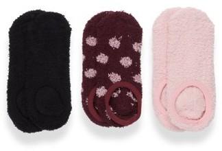 Warner's 3Pk Fluffy Liner Socks