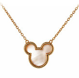 Disney Mickey Mouse Icon Necklace by Rebecca Hook