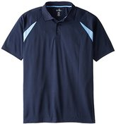 Russell Athletic Men's Big & Tall Color Blocked Polo