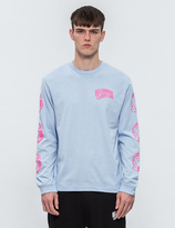 Billionaire Boys Club Helmet Print L/S T-Shirt