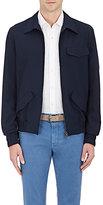 Boglioli Men's Gabardine Bomber Jacket