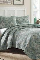 Tommy Bahama Turtle Cove Twin Quilt & Sham 2-Piece Set - Lagoon