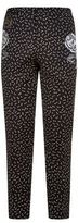 Dolce & Gabbana Embroidered Flower Trousers