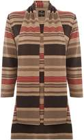 Tigi Round Neck Striped Tunic