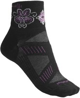 Smartwool PhD V2 Ultralght Mini Cycling Socks - Merino Wool, Quarter Crew (For Women)