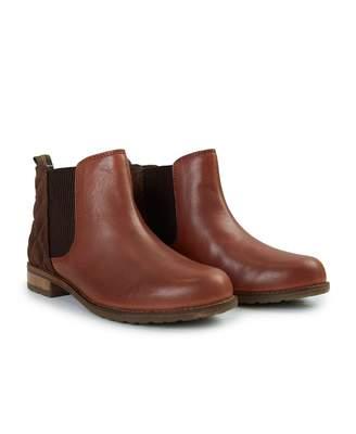 Barbour Abigail Ankle Leather Chelsea Boots Colour: TAN, Size: UK 3