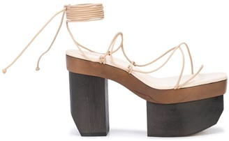 Cult Gaia Kiki platform sandals