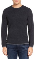 Velvet by Graham & Spencer Men's Jagger01 Tipped Cashmere Sweater