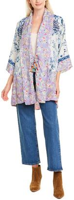 Johnny Was Cassie Silk Kimono