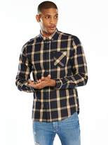 Very L/S Brushed Check Shirt
