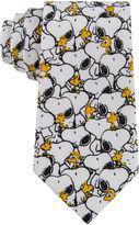 LICENSED PROPERTIES Peanuts Snoopy B&W Woodstock Tie - Boys