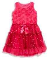 Betsey Johnson Little Girl's Wine Dress