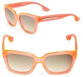 McQ by Alexander McQueen 3D Logo 54mm Square Sunglasses