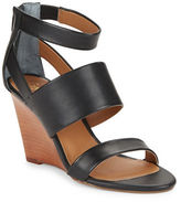 Seychelles Suave Leather Stacked Wedge Sandals