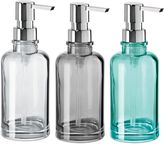 Oggi Round Glass 12 oz. Soap Dispenser