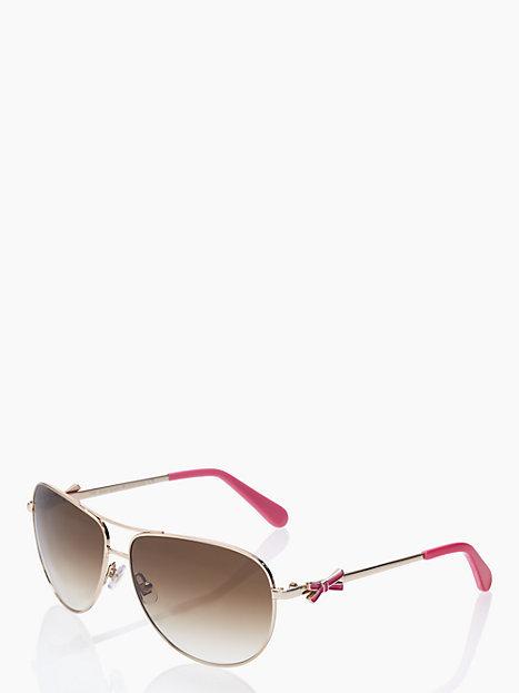 Kate Spade Circes bow sunglasses
