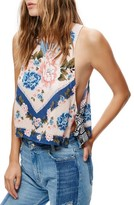 Free People Women's This Sweet Love Floral Print Tank