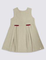 Marie Chantal Marie-chantal Sleeveless Piny Dress with Wool