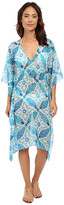 Echo Tahitian Tile Double V Buttefly Cover-Up